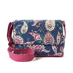 Donna Sharp Pauline Paisley Crossbody Bag