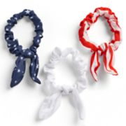 3-Pack Printed Knot Pony Holders