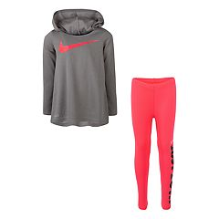 Girls 4-6x Nike Hooded Tunic & 'Just Do It' Leggings Set