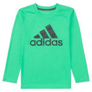 Boys 4-7x adidas climalite Vibrant Logo Graphic Tee