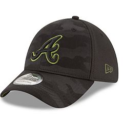 Adult New Era Atlanta Braves 39THIRTY Memorial Day Flex-Fit Cap