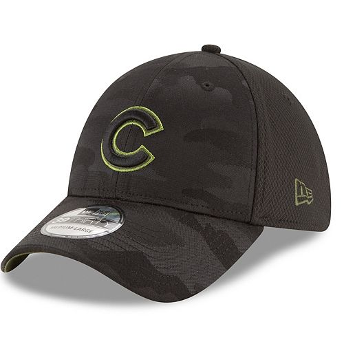 Adult New Era Chicago Cubs 39THIRTY Memorial Day Flex-Fit Cap
