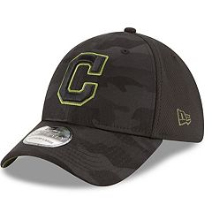Adult New Era Cleveland Indians 39THIRTY Memorial Day Flex-Fit Cap