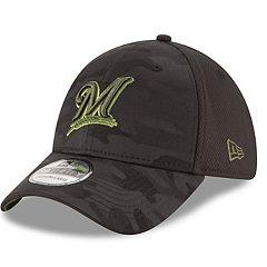 Adult New Era Milwaukee Brewers 39THIRTY Memorial Day Flex-Fit Cap