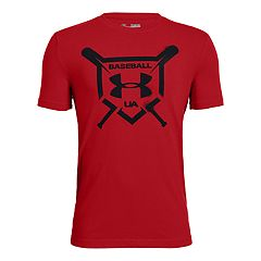 Boys 8-20 Under Armour Baseball Squad Tee