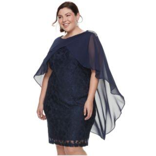 Plus Size Chaya Embellished Sheath Dress