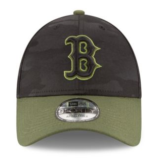 Adult New Era Boston Red Sox 9FORTY Memorial Day Flex-Fit Cap