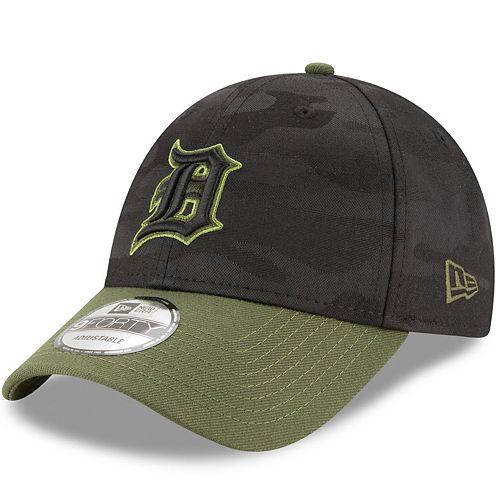 Adult New Era Detroit Tigers 9FORTY Memorial Day Flex-Fit Cap