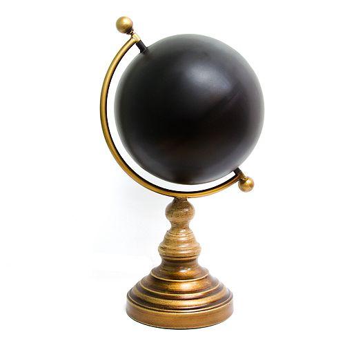 Stratton Home Decor Chalkboard Globe Table Decor
