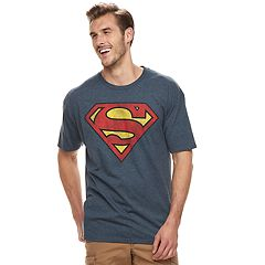 Big & Tall Superman Shield Logo Graphic Tee