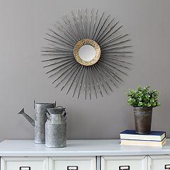 Stratton Home Decor Starburst Wall Mirror