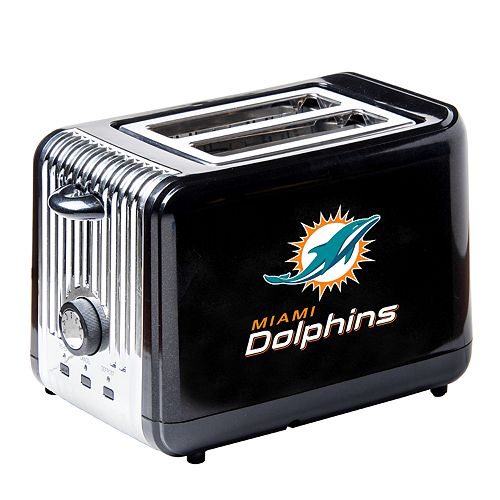 Boelter Miami Dolphins Small Toaster