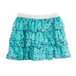 Girls 4-10 SONOMA Good for Life® Tiered Chiffon Skort