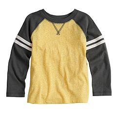 Toddler Boy Jumping Beans® Striped Raglan Tee