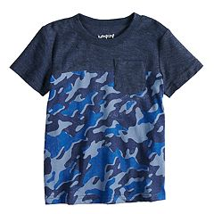 Toddler Boy Jumping Beans® Camouflaged Pocket Tee