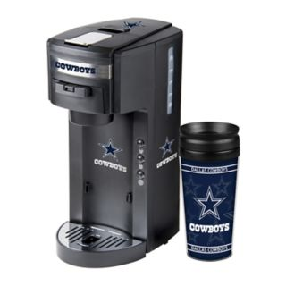 Boelter Dallas Cowboys Deluxe Coffee Maker & 14-Ounce Travel Tumbler Mug