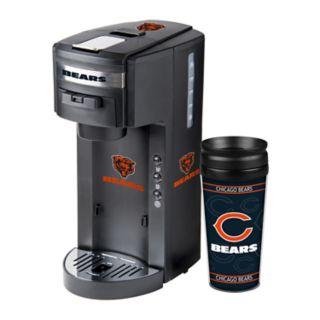 Boelter Chicago Bears Deluxe Coffee Maker & 14-Ounce Travel Tumbler Mug