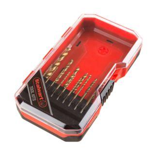 Stalwart 15-Piece Titanium Drill Bit Set