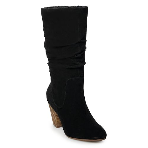SONOMA Goods for Life™ Sketch Women's Suede Slouch Boots