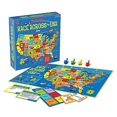 Scholastic Race Across the USA Game by University Games