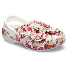 Crocs Classic Timeless Clash Roses Women's Clogs