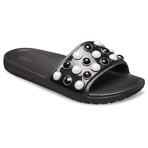 32a2ce9fb73da Crocs Sloane Timeless Pearl Women s Slide Sandals