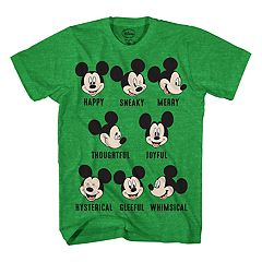 Boys 8-20 Disney Mickey Mouse Expressions Tee