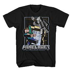 Boys 8-20 Minecraft Haunted Mansion Tee