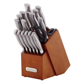Farberware Edgekeeper 18-piece Forged Stainless Steel Cutlery Set