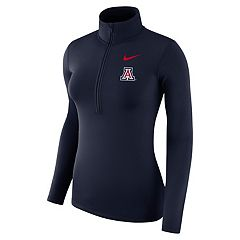 Women's Nike Arizona Wildcats 1/2-Zip Dri-FIT Pullover Top