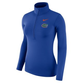 Women's Nike Florida Gators Dri-FIT Half-Zip Top
