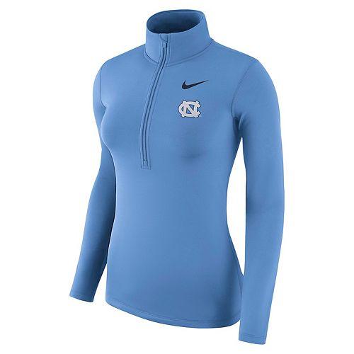 Women's Nike North Carolina Tar Heels Dri-FIT Half-Zip Top