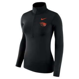 Women's Nike Oregon State Beavers 1/2-Zip Dri-FIT Pullover Top