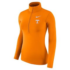 Women's Nike Tennessee Volunteers 1/2-Zip Dri-FIT Pullover Top