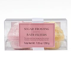 Simple Pleasures 2-Pack Sugar Frosting Bath Fizzers
