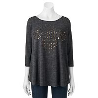 Women's French Laundry Studded Swing Tee