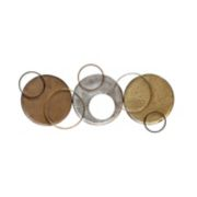 Stratton Home Decor Modern Circles Wall Decor