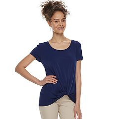 Juniors' Candie's® Knotted Top