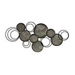 Stratton Home Decor Galvanized Metal Wall Decor
