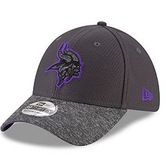 Adult New Era Minnesota Vikings 39THIRTY Popped Shadow Flex-Fit Cap