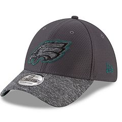 Adult New Era Philadelphia Eagles 39THIRTY Popped Shadow Flex-Fit Cap