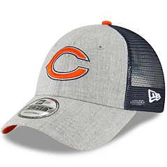 Adult New Era Chicago Bears 9FORTY Heathered Adjustable Cap