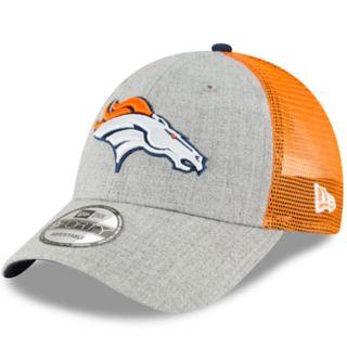 Adult New Era Denver Broncos 9FORTY Heathered Adjustable Cap