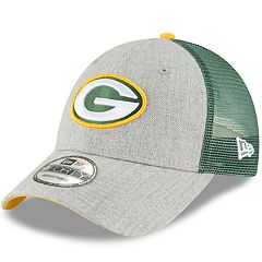 Adult New Era Green Bay Packers 9FORTY Heathered Adjustable Cap