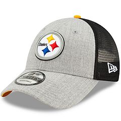 Adult New Era Pittsburgh Steelers 9FORTY Heathered Adjustable Cap