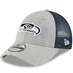 Adult New Era Seattle Seahawks 9FORTY Heathered Adjustable Cap