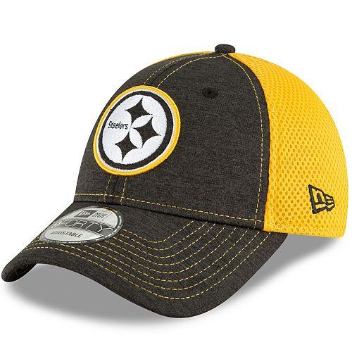 wholesale dealer 70d64 7e266 Adult New Era Pittsburgh Steelers 9FORTY Surge Stitcher Adjustable Cap