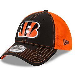 Adult New Era Cincinnati Bengals 39THIRTY Fan Mesh Flex-Fit Cap