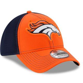 Adult New Era Denver Broncos 39THIRTY Fan Mesh Flex-Fit Cap