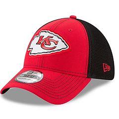 Adult New Era Kansas City Chiefs 39THIRTY Fan Mesh Flex-Fit Cap